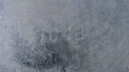 Closeup Of Number 704B: Erie Skillet, Unrestored