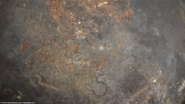 Closeup Of Size 5 Mark On Wagner Sidney O Scotch Bowl