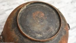 Rusty Bottom On Wagner Sidney O Scotch Bowl Size 5