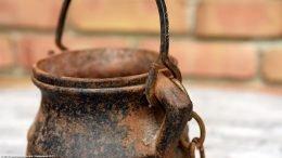 Rusty Cast Iron Cape Codder Handle