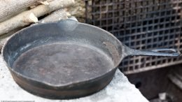 Unrestored Pre Griswold Erie 8 Cooking Surface