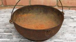 Unrestored Wagner Sidney O Scotch Bowl Size 5
